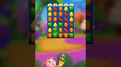 Candy Crush FRIENDS Saga level 21 no boosters