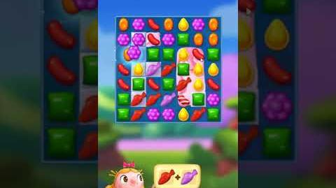 Candy Crush FRIENDS Saga level 3 no boosters