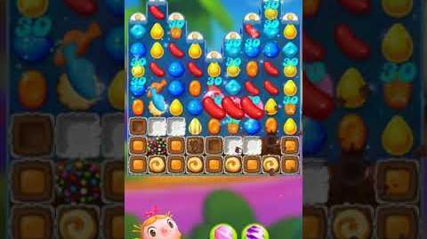 Candy Crush FRIENDS Saga level 34 no boosters