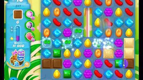 Candy Crush Friends Group SODA Level 317 2Stars Update 291017