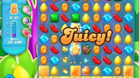 Candy Crush Soda Saga Level 521 (4th version)