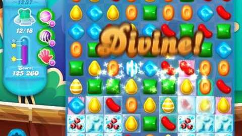 Candy Crush Soda Saga Level 1237 (buffed, 3 Stars)