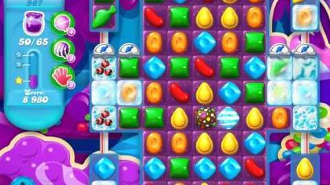 Candy Crush Soda Saga Level 587 (2nd buffed, 3 Stars)