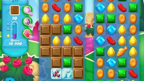Candy Crush Soda Saga Level 877 (3 Stars)