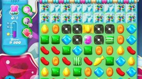 Candy Crush Soda Saga Level 1397 (4th version, 3 Stars)