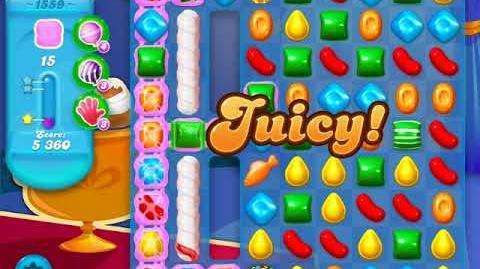 Candy Crush Soda Saga Level 1559 (buffed, 3 Stars)