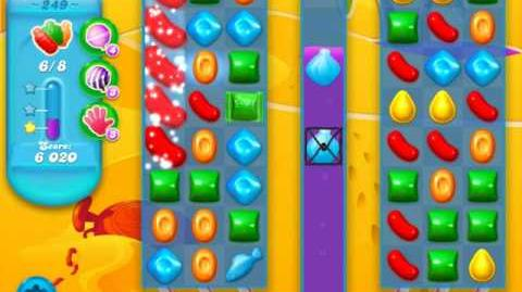 Candy Crush Soda Saga Level 249 (3rd version)