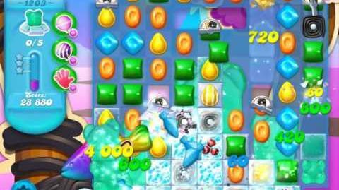 Candy Crush Soda Saga Level 1203 (6th version, 3 Stars)