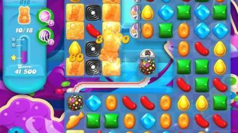 Candy Crush Soda Saga Level 618 (3 Stars)