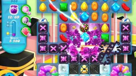 Candy Crush Soda Saga Level 968 (4th version, 3 Stars)