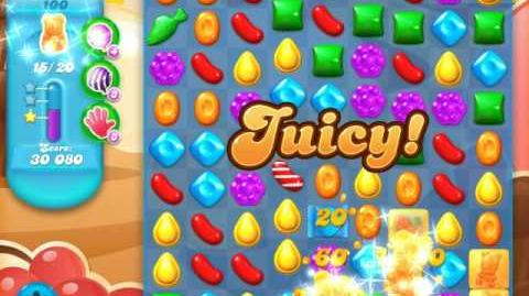 Candy Crush Soda Saga Level 100 (3rd version, 3 Stars)