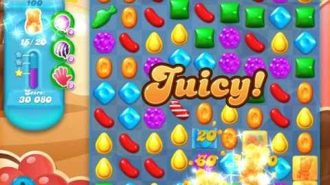 Candy Crush Soda Saga Level 100 (3rd version, 3 Stars)