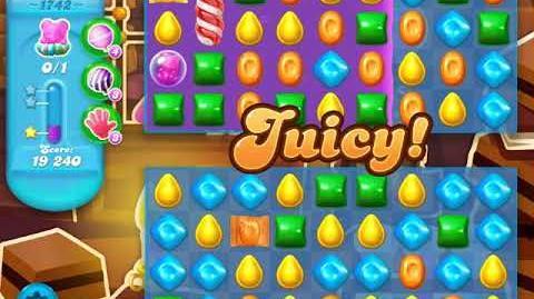 Candy Crush Soda Saga Level 1742 (nerfed)