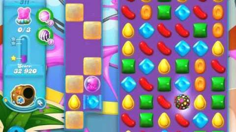Candy Crush Soda Saga Level 311 (nerfed)