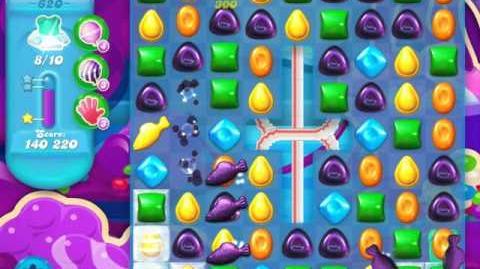 Candy Crush Soda Saga Level 620 (2nd nerfed, 3 Stars)
