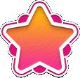 Superhard star holder