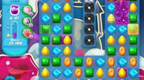Candy Crush Soda Saga Level 1400 (3 Stars)