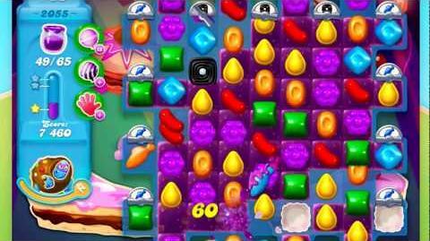 Candy Crush Soda Saga Level 2055 **