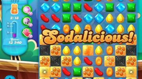 Candy Crush Soda Saga Level 1228 (buffed, 3 Stars)