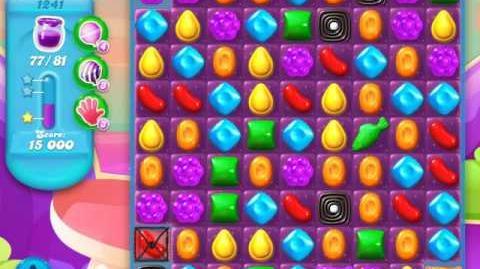 Candy Crush Soda Saga Level 1241 (4th version, 3 Stars)