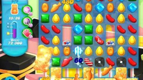 Candy Crush Soda Saga Level 979 (4th version, 3 Stars)
