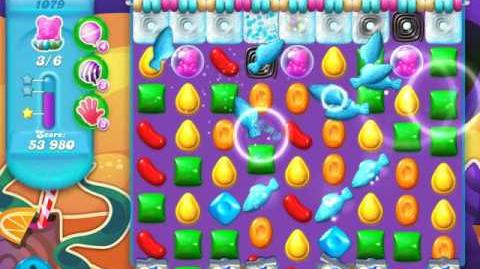 Candy Crush Soda Saga Level 1079 (8th version, 3 Stars)