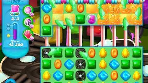 Candy Crush Soda Saga Level 1669 (2nd nerfed, 3 Stars)