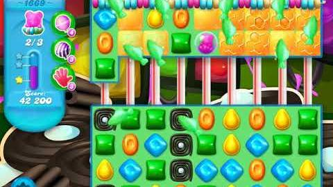 Candy Crush Soda Saga Level 1669 (2nd nerfed, 3 Stars)