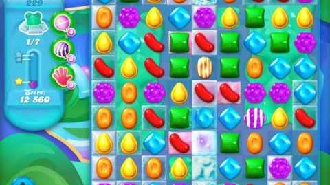 Candy Crush Soda Saga Level 229 (buffed, 3 Stars)