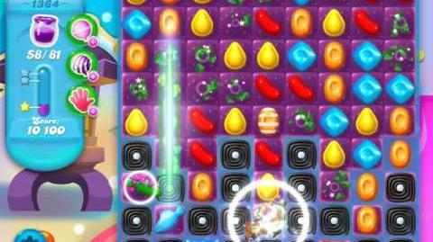 Candy Crush Soda Saga Level 1364 (3 Stars)