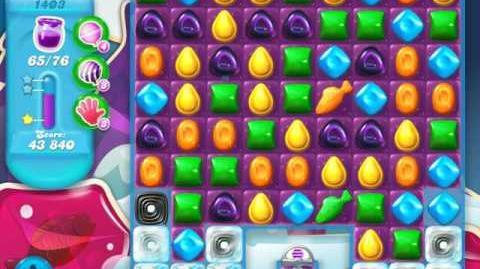 Candy Crush Soda Saga Level 1403 (7th version, 3 Stars)