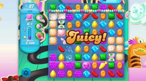 Candy Crush Soda Saga - Level 173 - No boosters