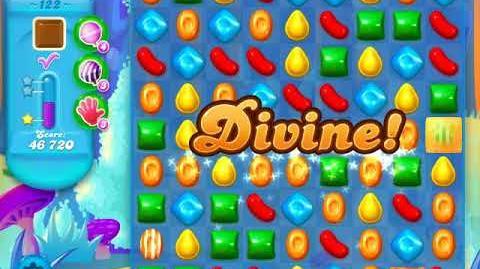Candy Crush Soda Saga Level 122 (3rd version, 3 Stars)