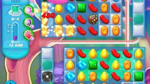 Candy Crush Soda Saga Level 1262 (5th version, 3 Stars)