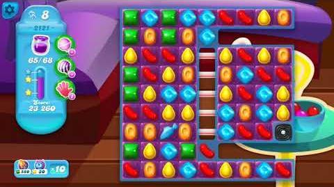 Candy Crush Soda Saga Level 2121