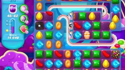 Candy Crush Soda Saga Level 614 (6th version, 3 Stars)
