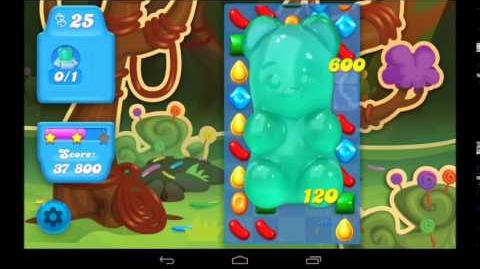 Candy Crush Soda Saga Level 6 - 3 Star Walkthrough
