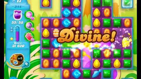 Candy Crush Friends Group SODA Level 344 3Stars 1st Update 291017