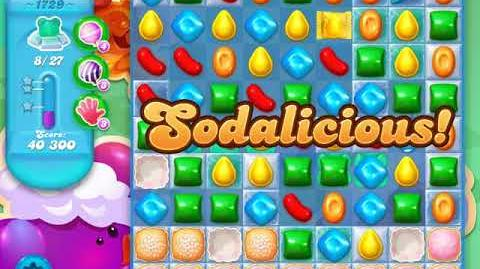 Candy Crush Soda Saga Level 1729 (nerfed, 3 Stars)