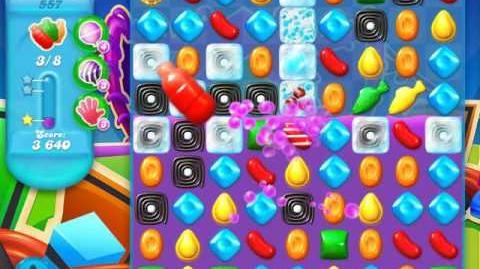 Candy Crush Soda Saga Level 557 (3rd version)