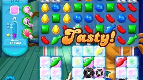 Candy Crush Soda Saga Level 1844 (3 Stars)