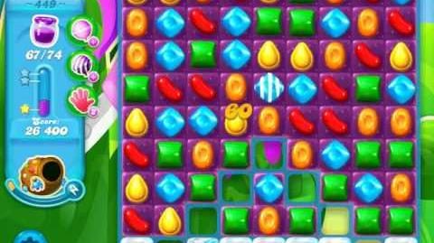 Candy Crush Soda Saga Level 449 (4th version, 3 Stars)