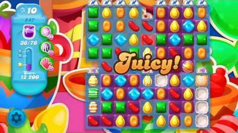 Candy Crush Soda Saga Level 847 (3 Stars)