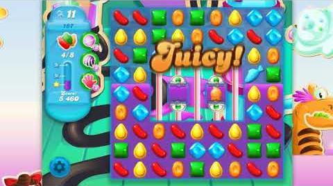 Candy Crush Soda Saga - Level 187 - No boosters