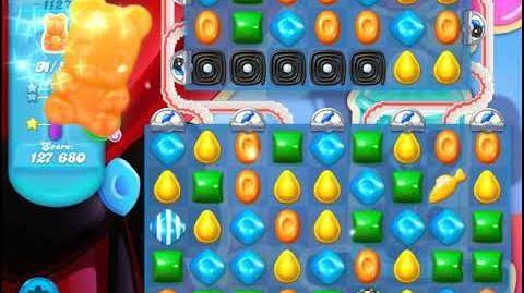 Candy Crush Soda Saga Level 1127 (2nd buffed, 3 Stars)