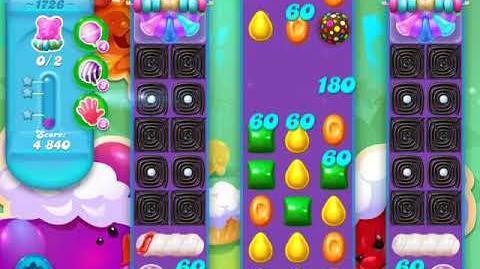 Candy Crush Soda Saga Level 1726 (buffed, 3 Stars)