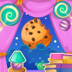 S'more Sleepover background