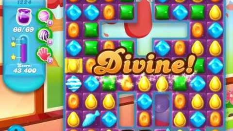 Candy Crush Soda Saga Level 1224 (4th version, 3 Stars)