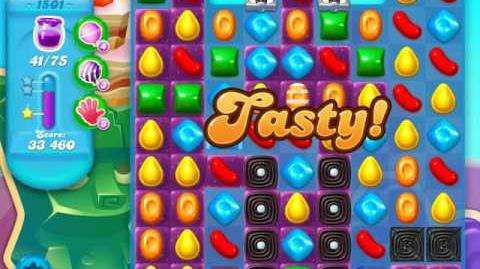 Candy Crush Soda Saga Level 1501 (2nd nerfed, 3 Stars)