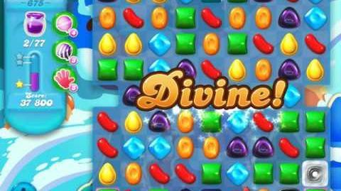 Candy Crush Soda Saga Level 675 (nerfed)